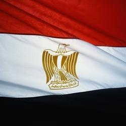 Пазл онлайн: Флаг Египта