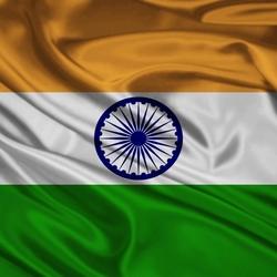 Пазл онлайн: Флаг Индии