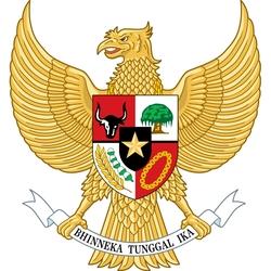 Пазл онлайн: Герб Индонезии