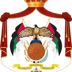 Пазл онлайн: Герб Иордании