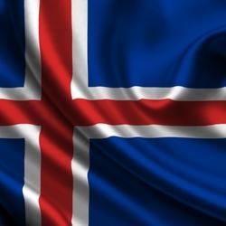 Пазл онлайн: Флаг Исландии