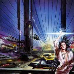 Пазл онлайн: Улица будущего