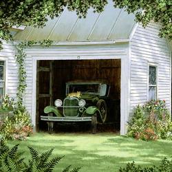 Пазл онлайн: В гараже