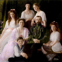 Пазл онлайн: Семья императора НиколаяII