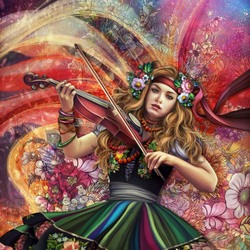Пазл онлайн: Музыка