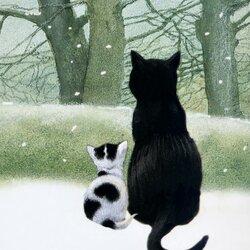 Пазл онлайн: Первый снег