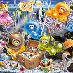 Пазл онлайн: Морские сокровища
