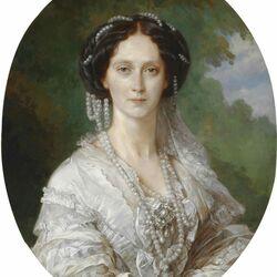Пазл онлайн: Портрет императрицы Марии Александровны
