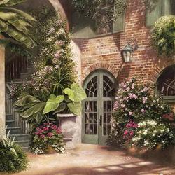 Пазл онлайн: Задний дворик