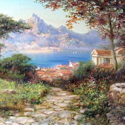 Пазл онлайн: Итальянское побережье
