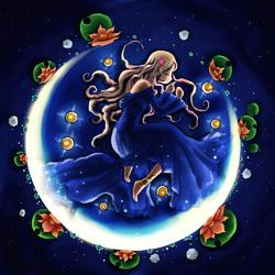 Пазл онлайн: Лунный свет. Мечта