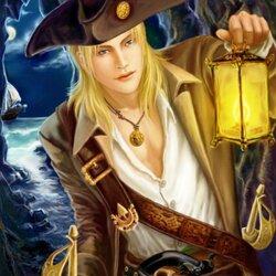 Пазл онлайн: Пират