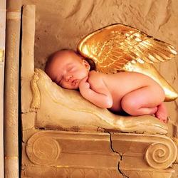 Пазл онлайн: Ангелочек