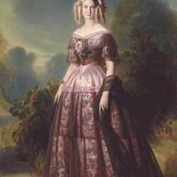 Пазл онлайн: Портрет Марии Каролины Августы Бурбон, принцессы обеих Сицилий