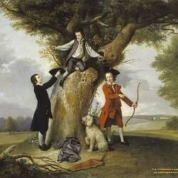 Пазл онлайн: Сыновья Джона Стюарта, третьего графа Бат
