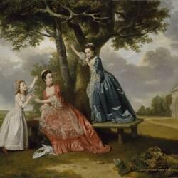 Пазл онлайн: Три дочери Джона Стюарта, третьего графа Бат