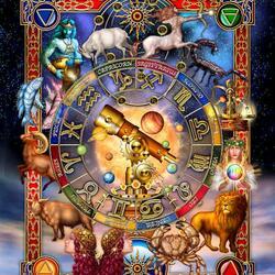 Пазл онлайн: Астрология