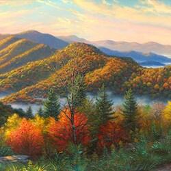 Пазл онлайн: Осенние краски
