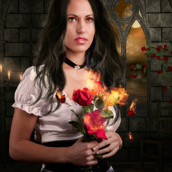 Пазл онлайн: Burning Desires/Сгорающие желания