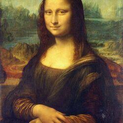 Пазл онлайн: Мона Лиза