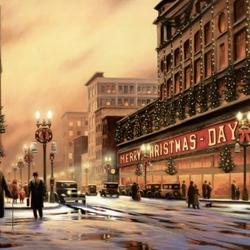 Пазл онлайн: Канун Рождества