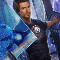 Пазл онлайн: Железный человек