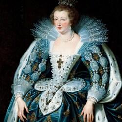 Пазл онлайн: Анна Австрийская, королева Франции
