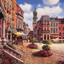 Пазл онлайн: Городская площадь