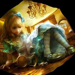 Пазл онлайн: Большая Алиса