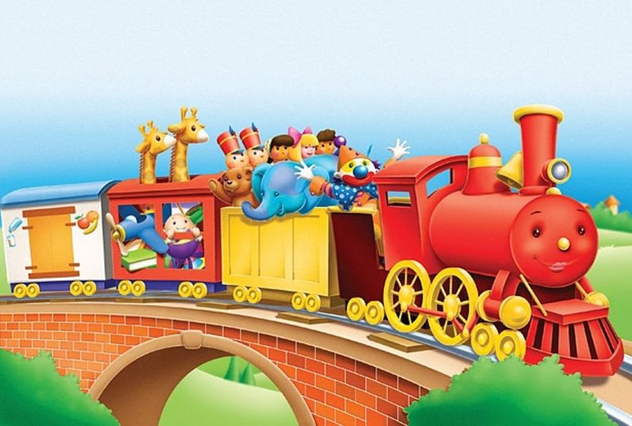Прикольный, поезд веселые картинки