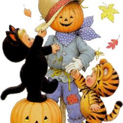 Пазл онлайн: Хеллоуин!
