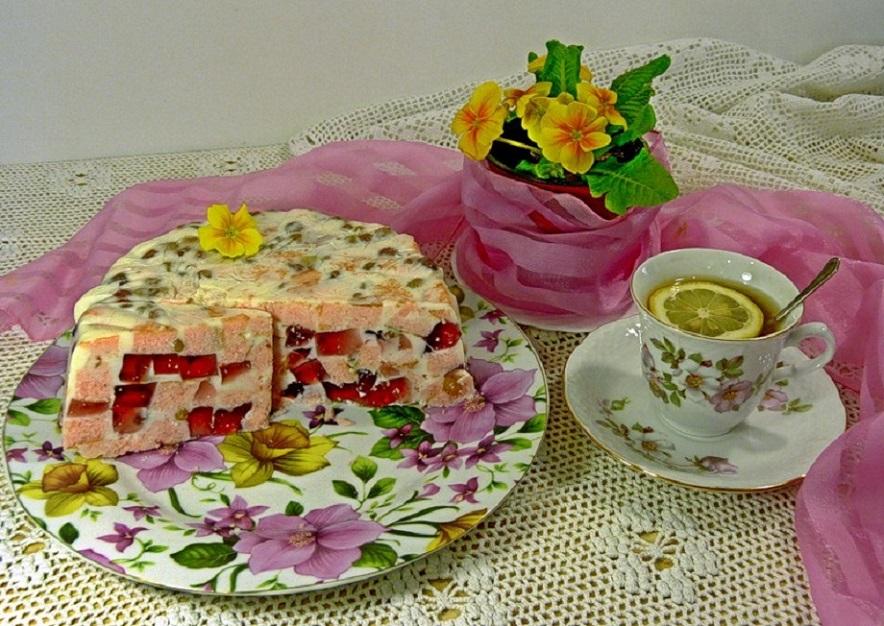 Открытки тортики к чаю 22