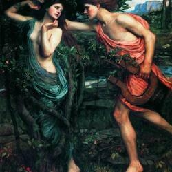 Пазл онлайн: Аполлон и Дафна