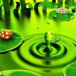 Пазл онлайн: Зелёный мир