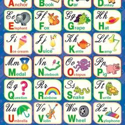 Пазл онлайн: Изучаем английский алфавит