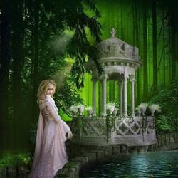 Пазл онлайн: Зеленая фантазия