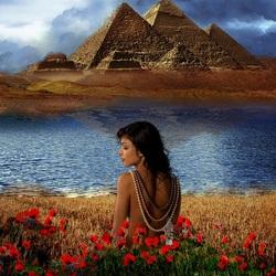 Пазл онлайн: Цветок Нила