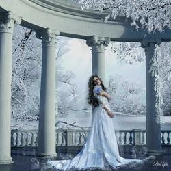 Пазл онлайн: Холодная принцесса