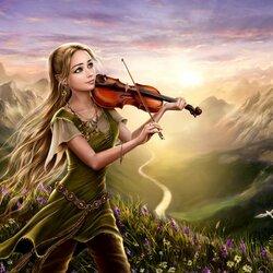 Пазл онлайн: Музыка восхода