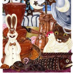 Пазл онлайн: Шоколадная мышь?