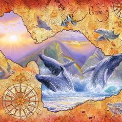 Пазл онлайн: Карта Мауи