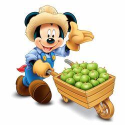 Пазл онлайн: Фермер Микки