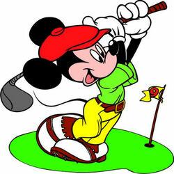 Пазл онлайн: Весёлый гольфист