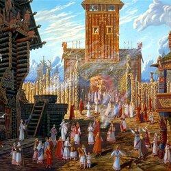 Пазл онлайн: Храм Святовита в Арконе
