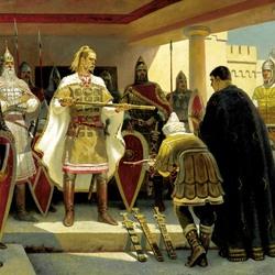 Пазл онлайн: Предание о Святославе