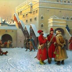 Пазл онлайн: Посольский двор XVII век