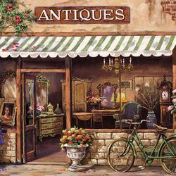 Пазл онлайн: Antique Shop/ Антикварный магазин
