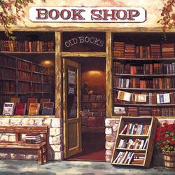 Пазл онлайн: Book Shop/ Книжный магазин