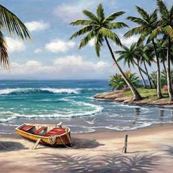 Пазл онлайн: Tropical Bay / Тропическая бухта