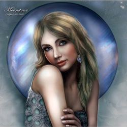 Пазл онлайн: Moonstone /  Лунный камень